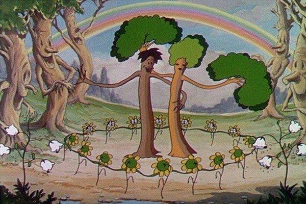 Risultato immagini per flower and trees