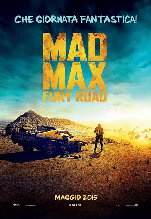 Mad Max Fury Road teaser poster italiano