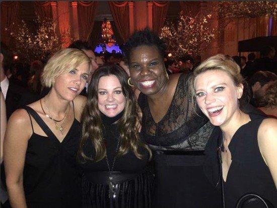 Il cast tutto al femminile di Ghostbusters 3 in una foto insieme..