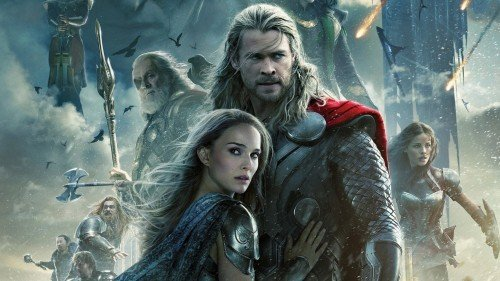 "Poster ufficiale di ""Thor - The Dark World""."