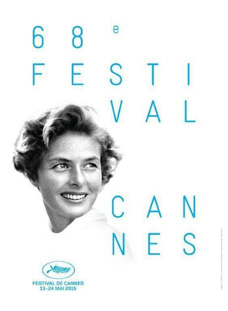 Ingrid Bergman nella locandina ufficiale di Cannes 2015