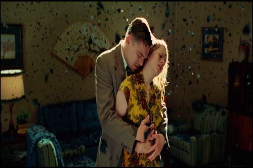 Leonardo di Caprio e Michelle Williams in una scena del film.