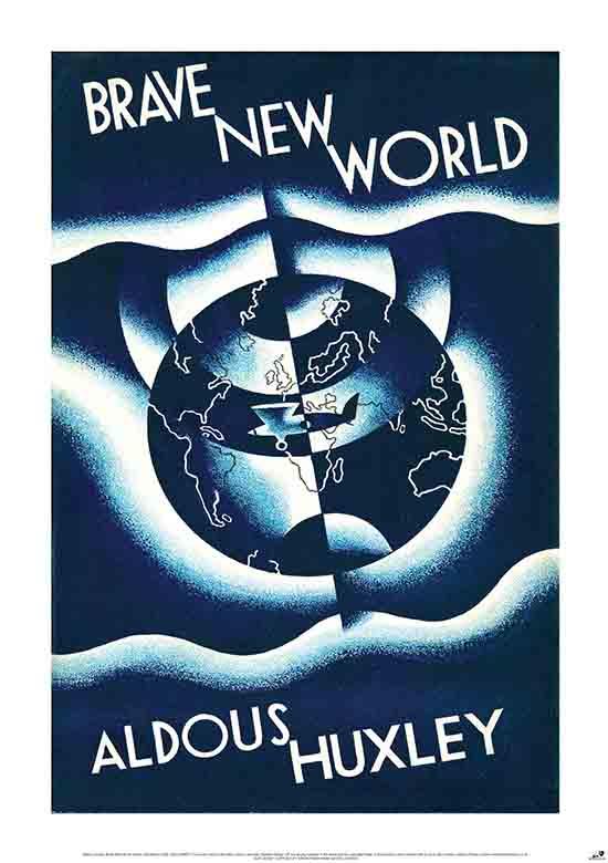 La copertina originale del romanzo Brave New World.