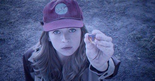 Casey (Britt Robertson) in Tomorrowland, p.g.c. ©Disney