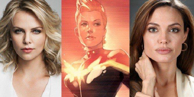 Captain Marvel: Angelina Jolie e Charlize Theron nei panni di regista e protagonista