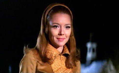 Diana Rigg interpreta la prima Bond girl che conquista l cuore di James Bond in Al servizio segreto di sua maestà