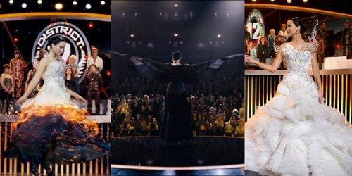Vestito Da Sposa Katniss Everdeen.Hunger Games I Look Che Fanno La Moda Di Capitol City
