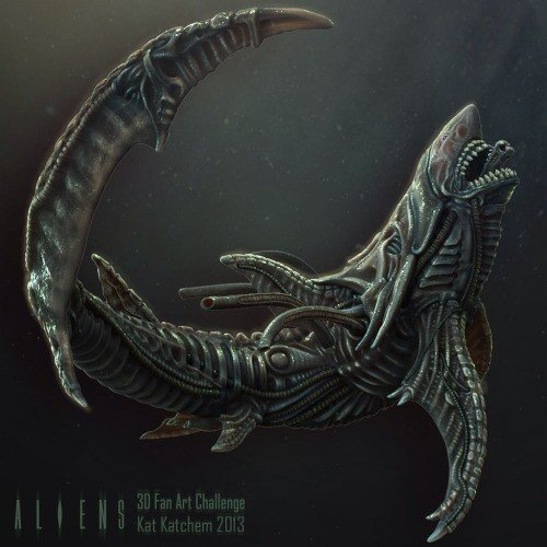 xenomorph raptor - photo #6