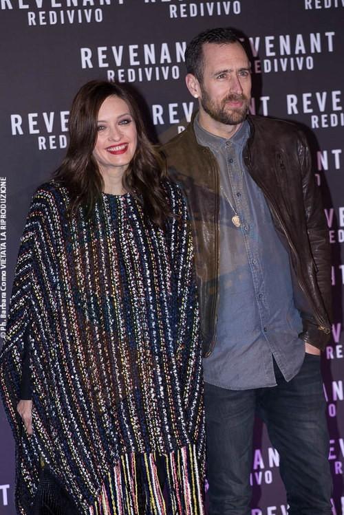 Carolina Crescentini and Dave Peter Mellish