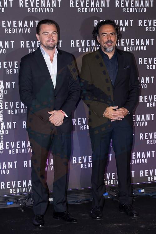 Leonardo DiCaprio e Alejandro González Iñárritu