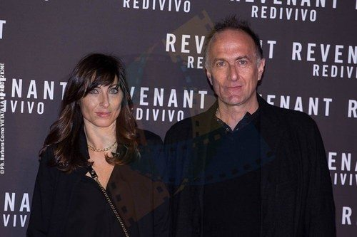Stefano Sollima and wife