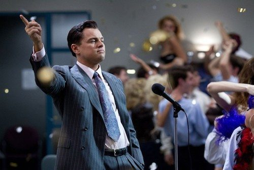 The Wolf of Wall Street è un film del 2013 diretto da Martin Scorsese e interpretato da Leonardo DiCaprio