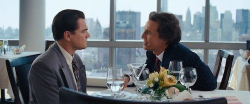 The Wolf of Wall Street è un film del 2013 diretto da Martin Scorsese e interpretato da Leonardo DiCaprio