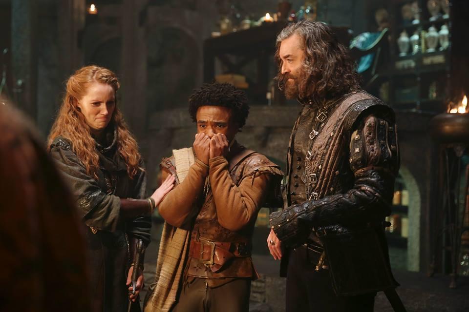 Roberta, Sid e Richard.