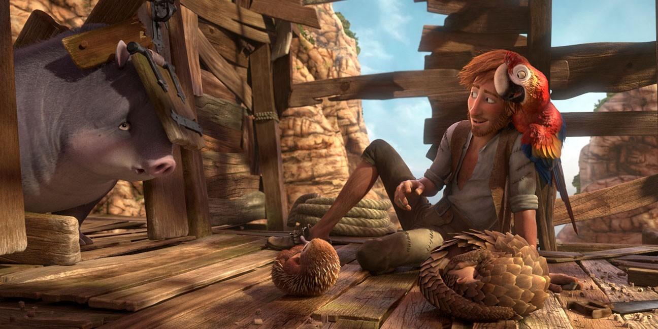 Robinson crusoe: recensione del primo film danimazione sul naufrago
