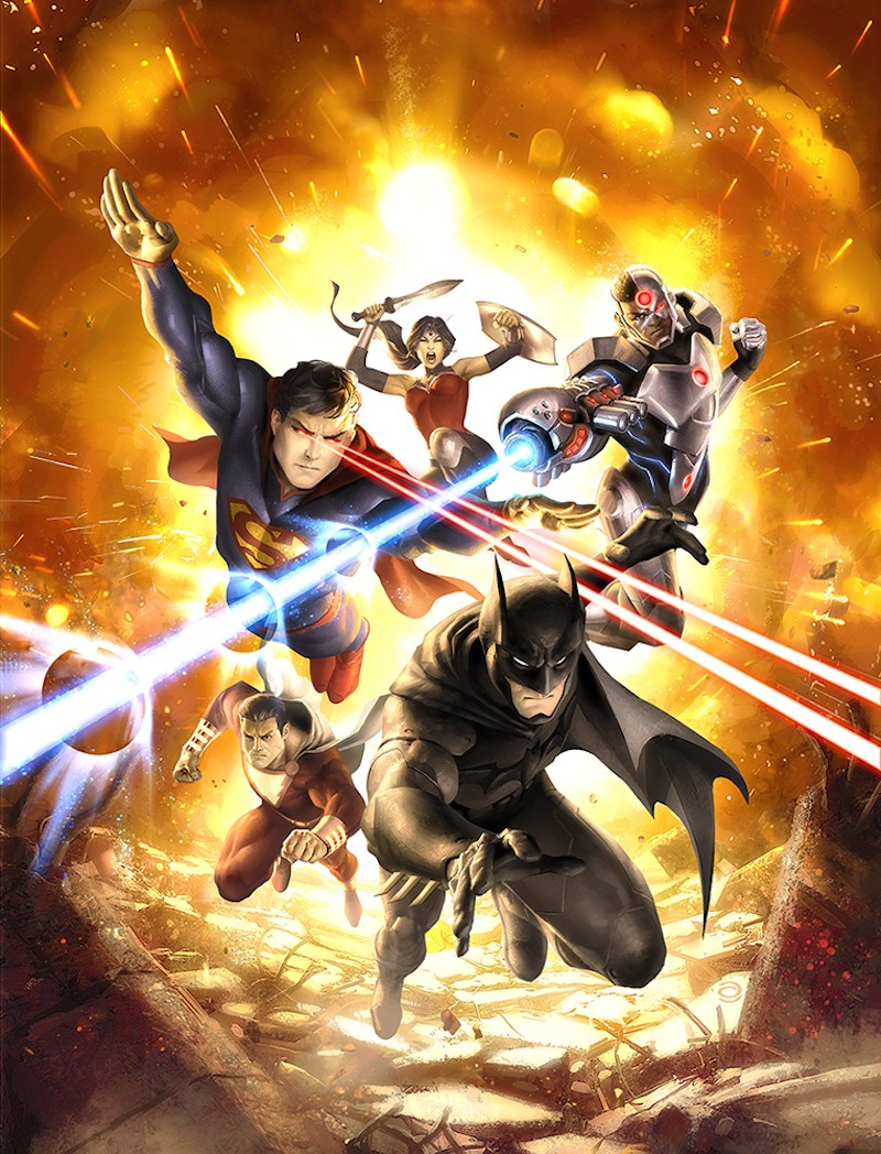 Justice League War German