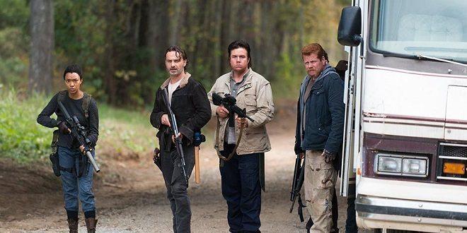 Il gruppo di Rick è bloccato dai Salvatori.