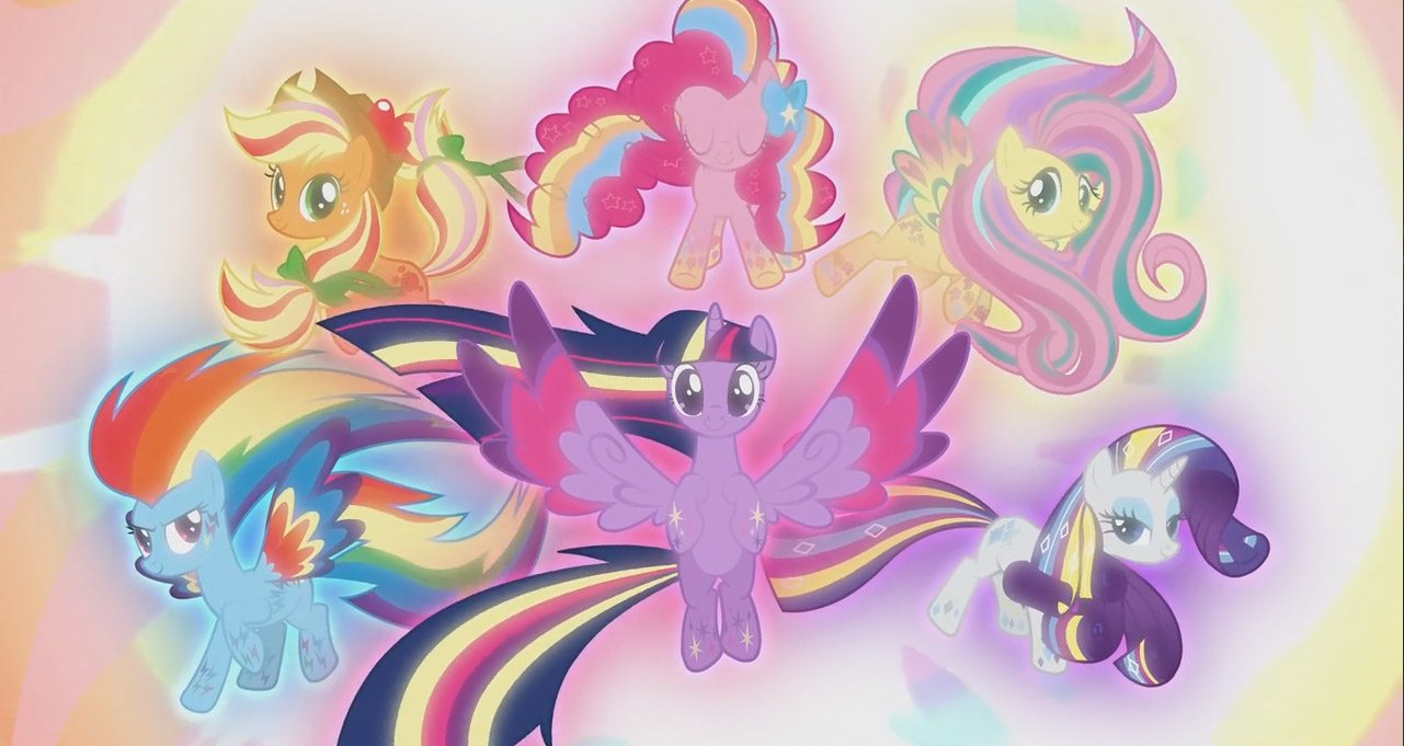 my little pony il film logo ufficiale