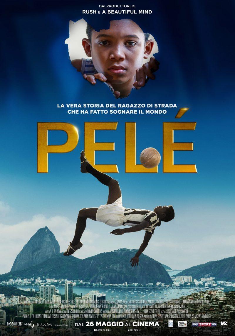 Pelé - rivelati il nuovo trailer ufficiale e il poster del film