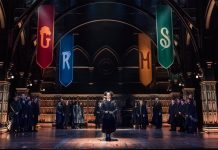 harry potter e la maledizione dell'erede Oliver Awards 2017 Hogwarts: prima foto da Harry Potter and the Cursed Child