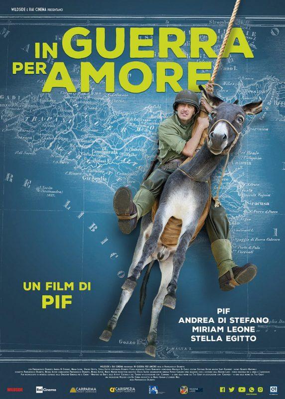 In guerra per amore: poster ufficiale del film di Pif