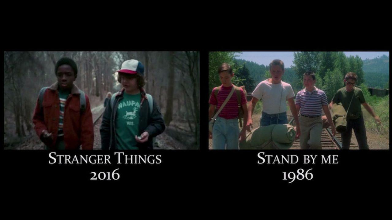 Stranger Things Un Video Supercut Mostra I Riferimenti Ai