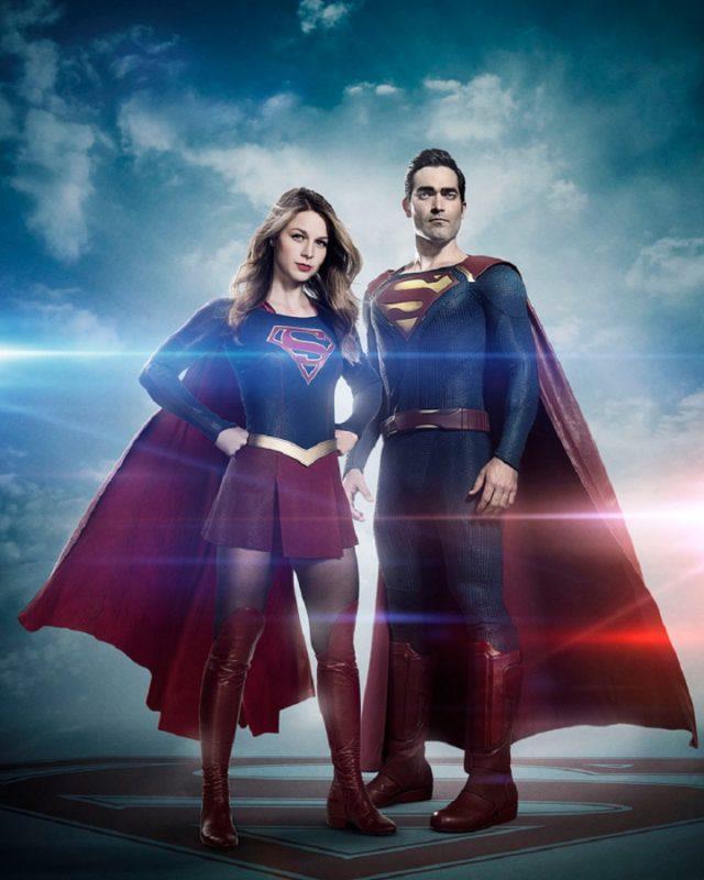 Supergirl 2: Tyler Hoechlin è Superman nella prima foto ufficiale