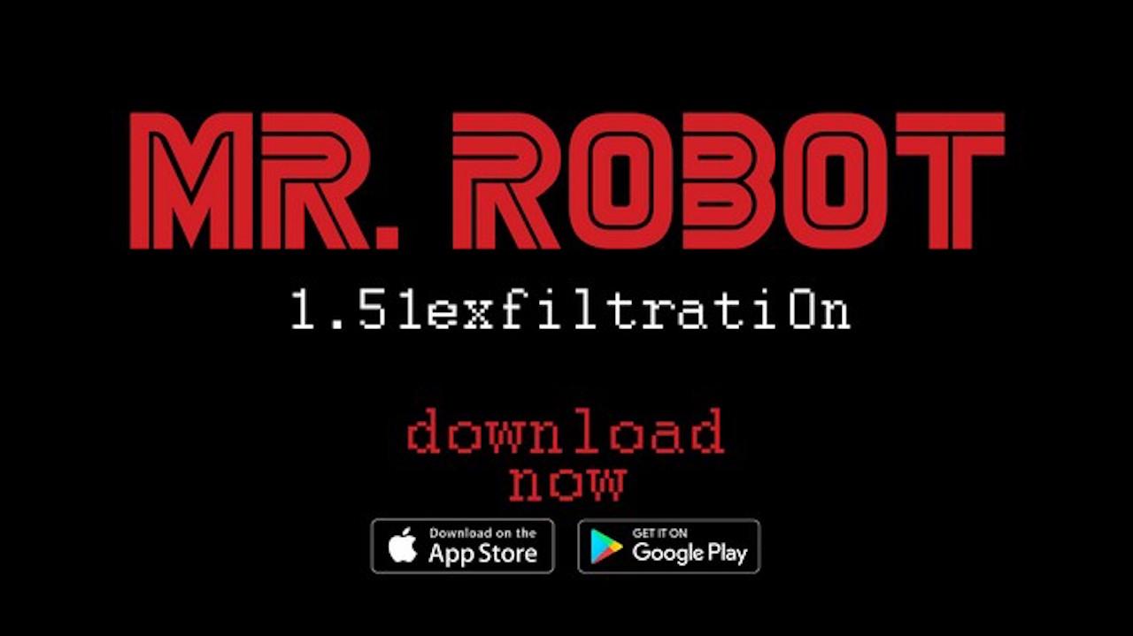 Mr. Robot 1.51exfiltrati0n è disponibile per iOS e Android