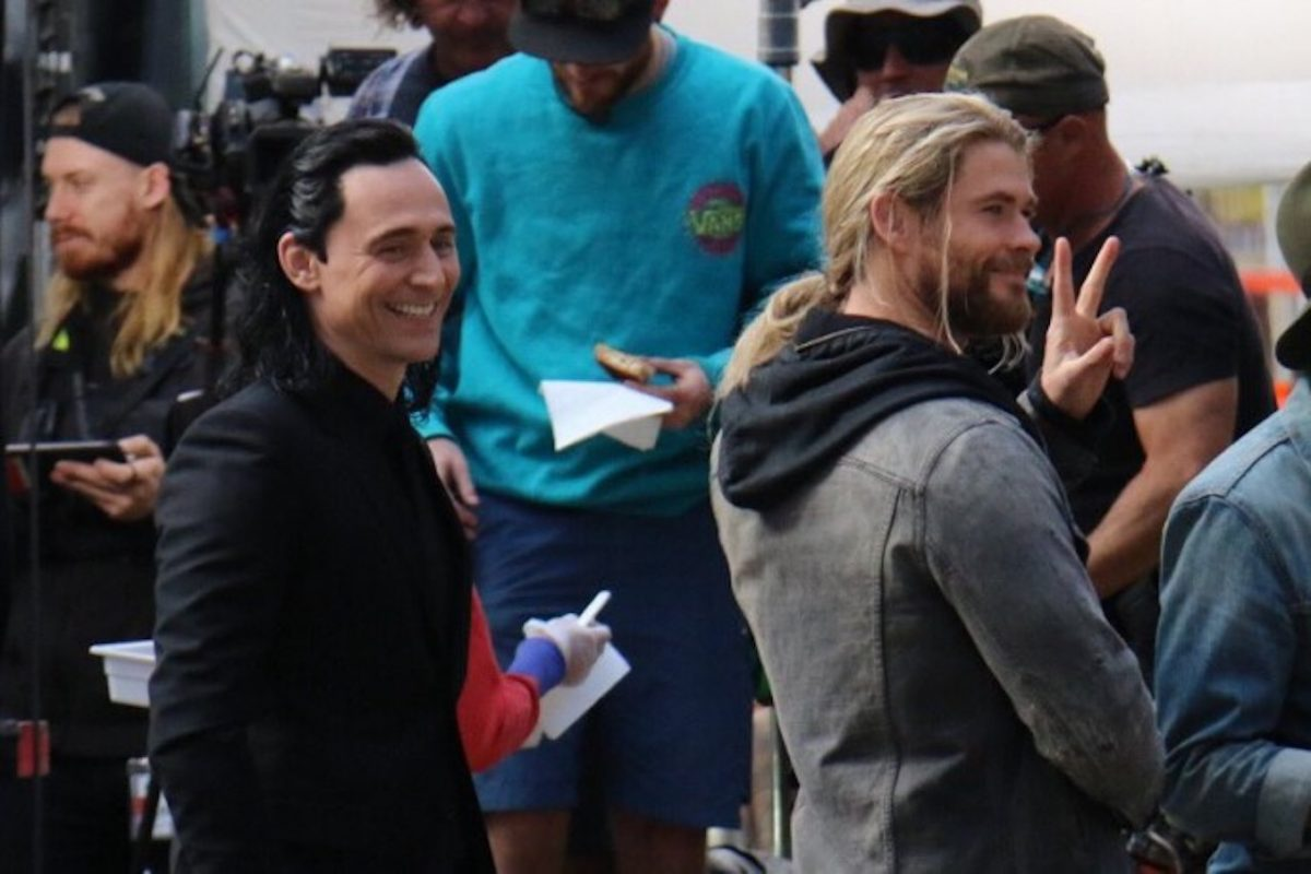 Thor: Ragnarok - Chris Hemsworth e Tom Hiddleston nelle foto e nei video dal set