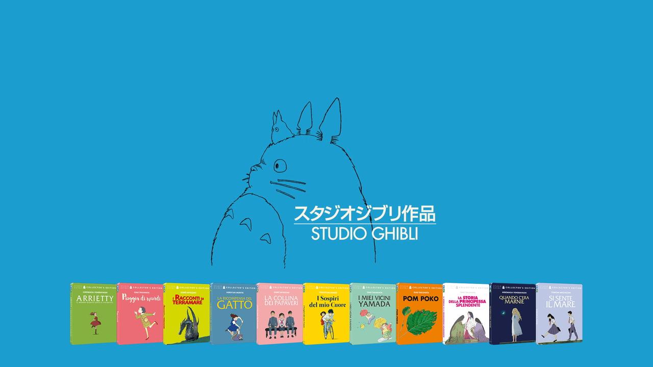Studio Ghibli presenta a novembre altri 11 titoli in steelbook da collezione