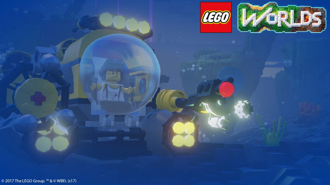 LEGO Worlds: ecco il trailer di lancio del gioco per PS4, Xbox One ...