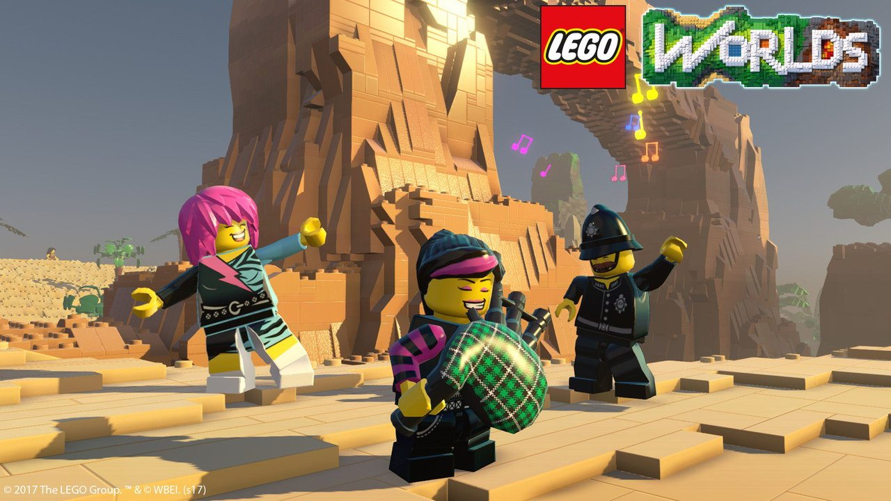 LEGO Worlds in arrivo su Console e Steam