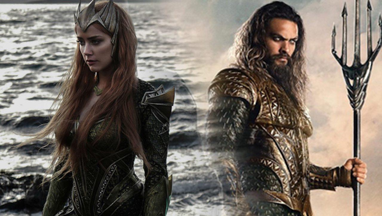 Aquaman: Amber Heard posta una foto dal set del nuovo film DCEU!