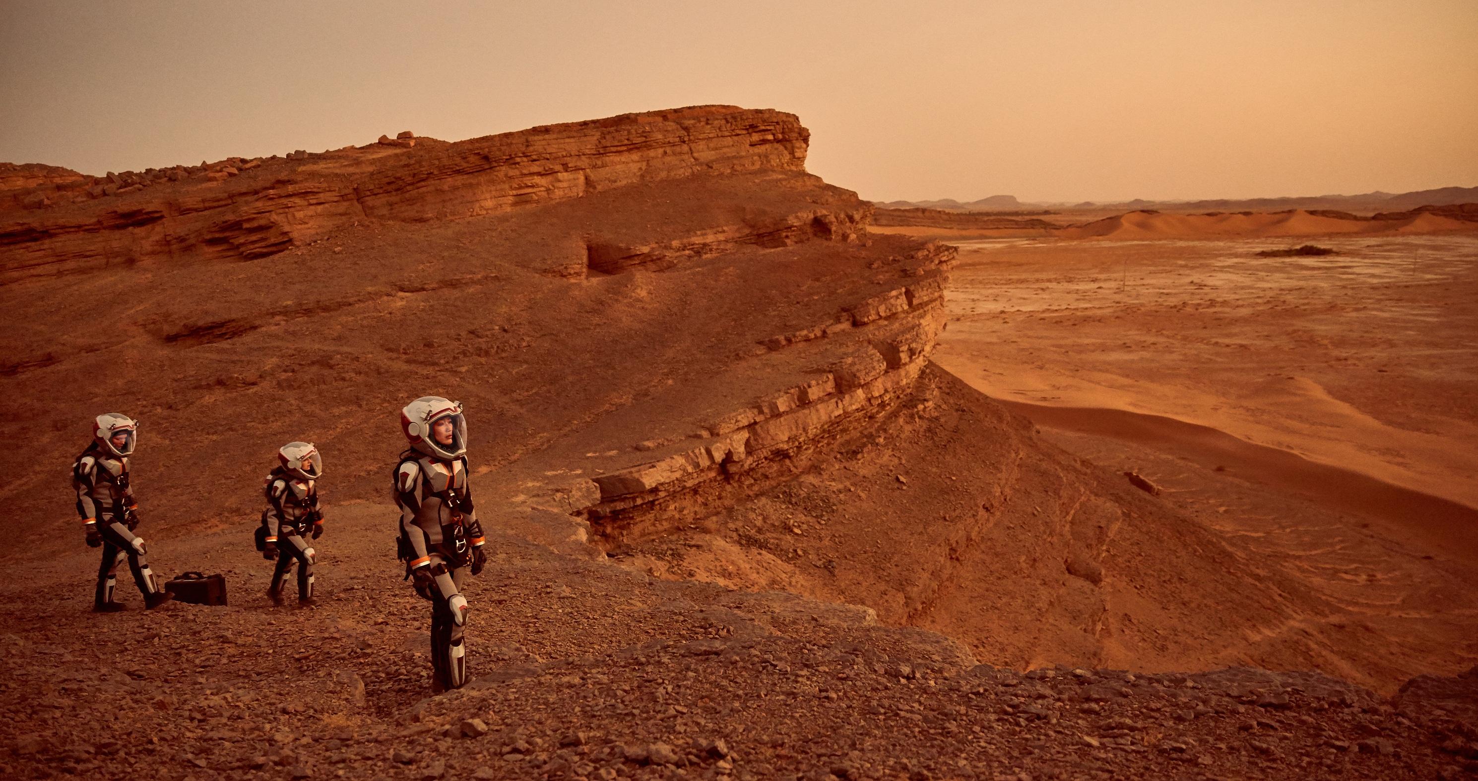 Marte, nella città eterna si celebra il pianeta rosso