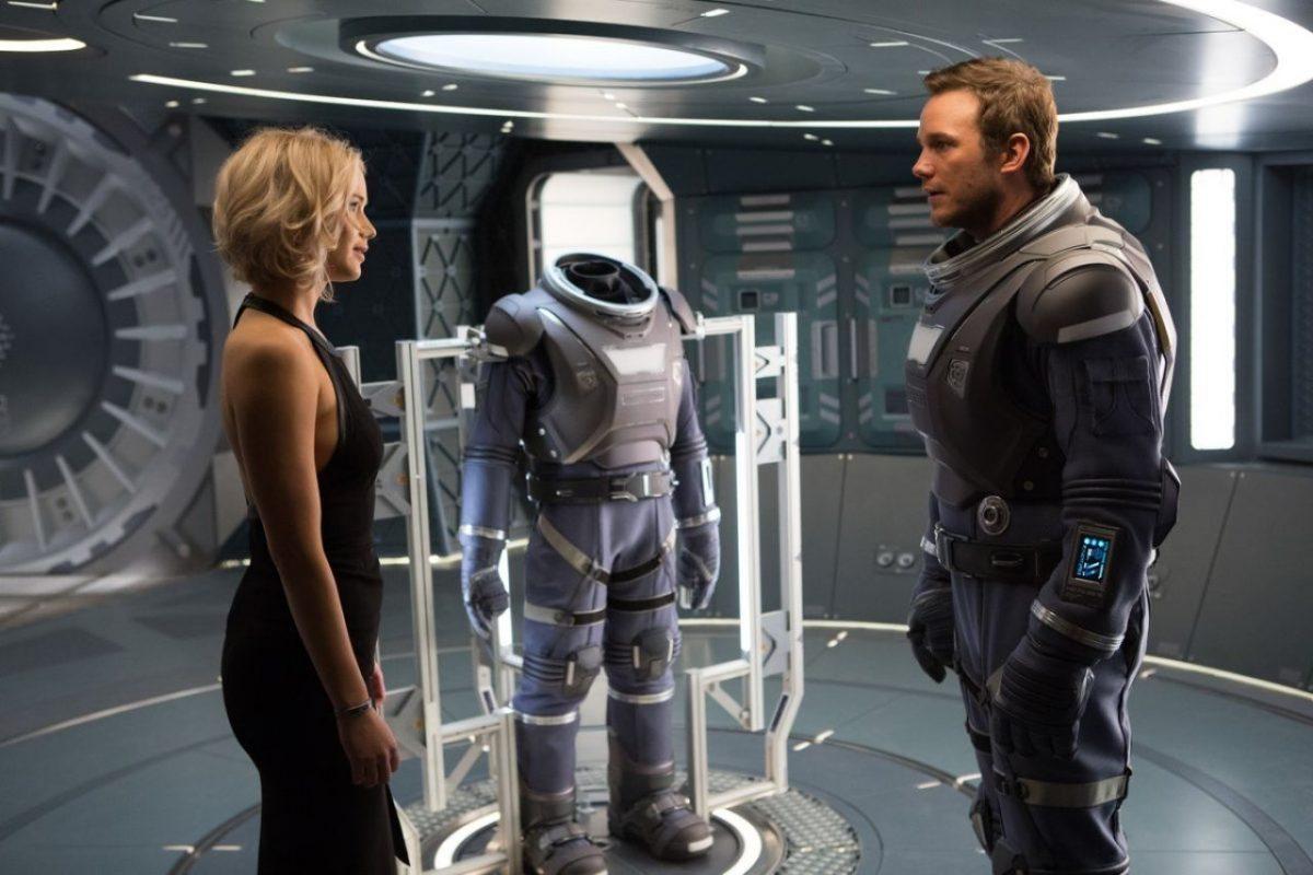 Passengers: le nuove immagini del film con Jennifer Lawrence e Chris Pratt