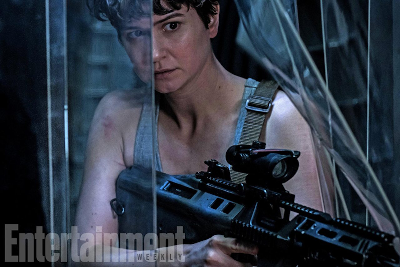 Alien: Covenant, atmosfere stile