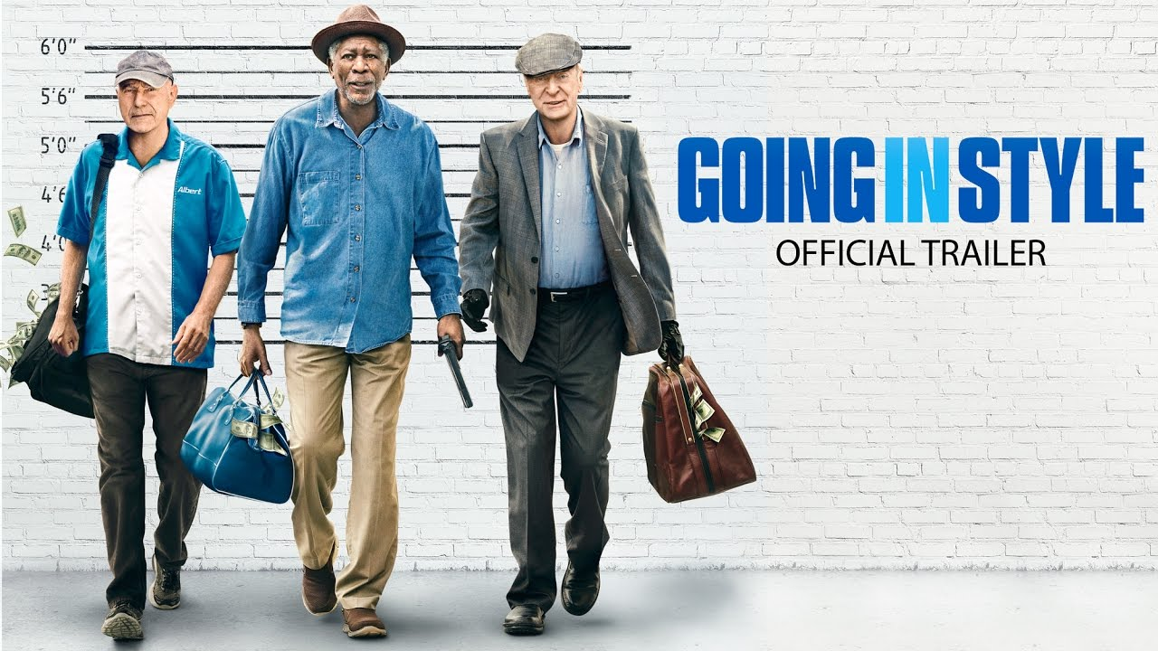 Wallpaper Going In Style Morgan Freeman Alan Arkin: Morgan Freeman, Michael Caine Ed Alan