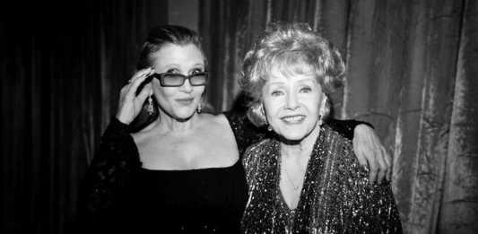 Un video per omaggiare Carrie Fisher e Debbie Reynolds ai Golden Globe 2017