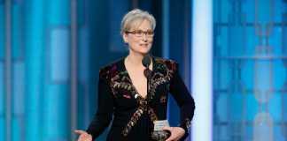 Il toccante discorso di Meryl Streep ai Golden Globe 2017