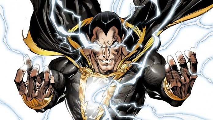 dwayne johnson black adam