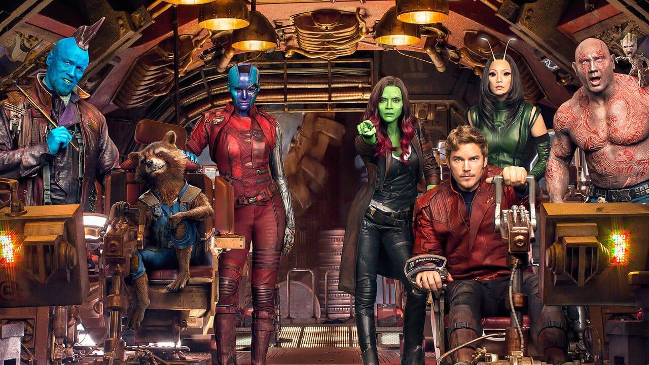 Zoe Saldana e le dark ladies de I Guardiani della Galassia
