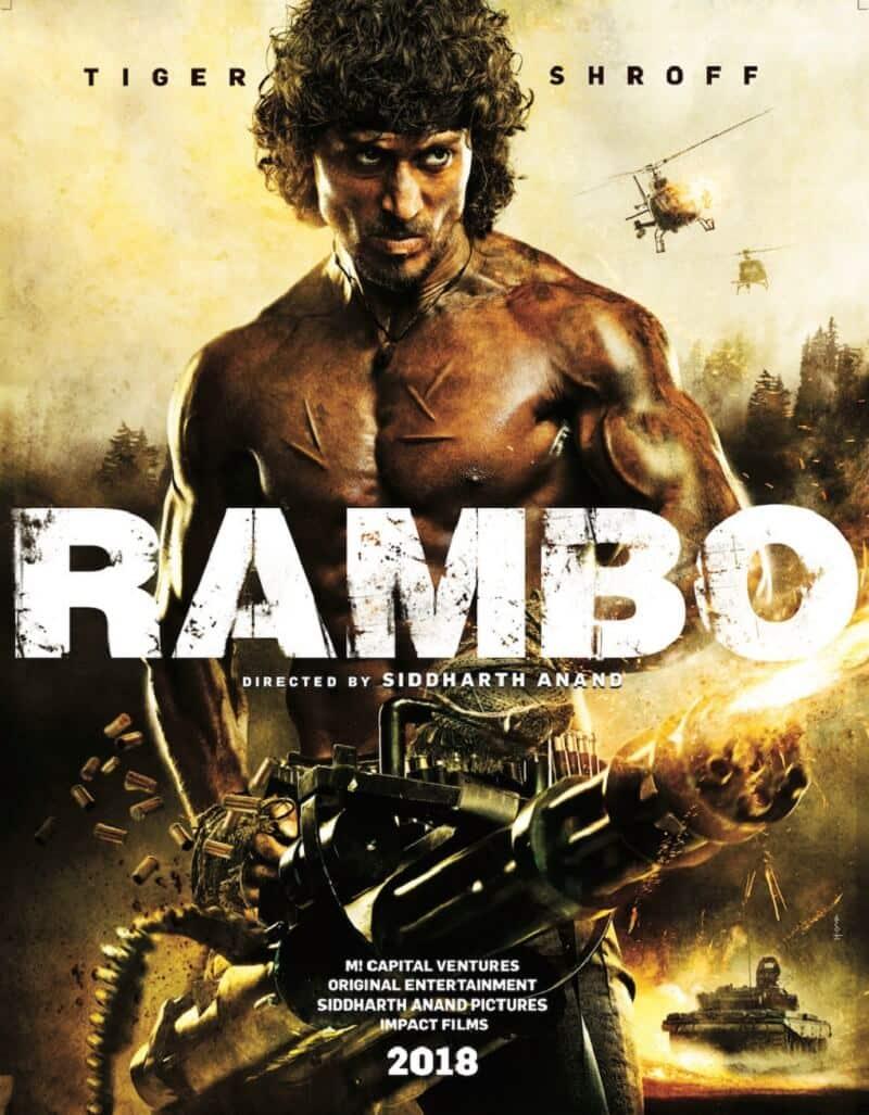 Rambo 1 Elicottero : Rambo uno sguardo esclusivo al poster del remake indiano