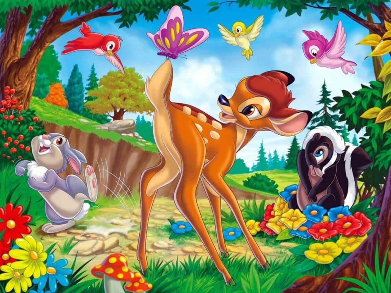 Bambi: 14 curiosità da sapere sul film danimazione disney