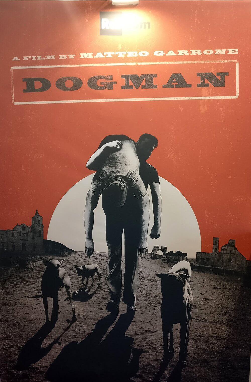 dogman poster matteo garrone