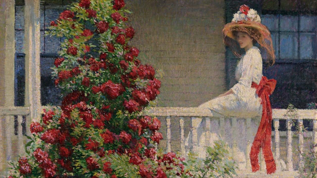 Il giardino degli artisti l 39 impressionismo americano - Il giardino italiano ...
