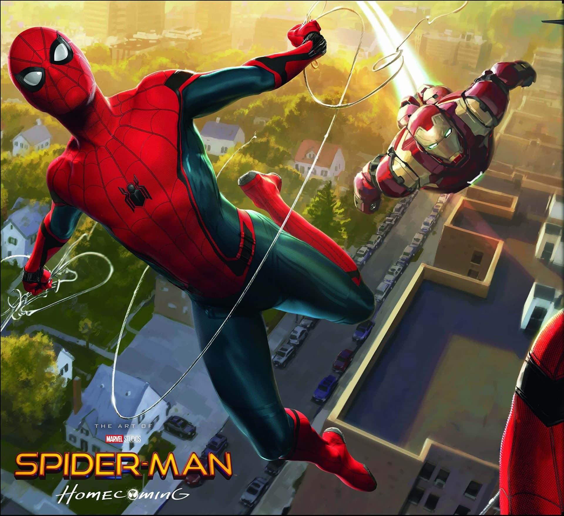 Iron Man e Spidey nel nuovo concept art di Spider Man: Homecoming