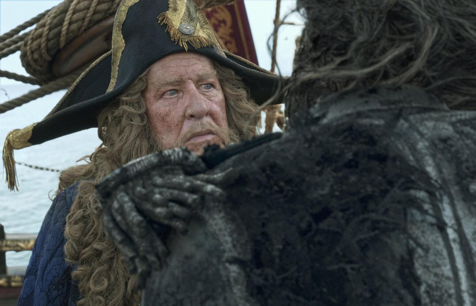 pirati dei caraibi: la vendetta di salazar geoffrey rush