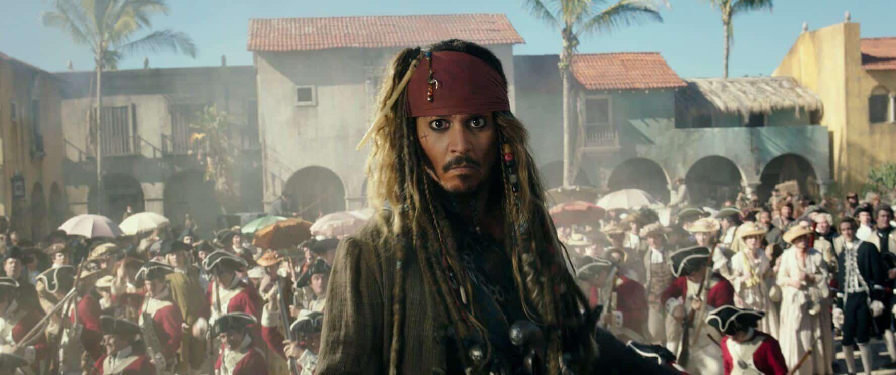 pirati dei caraibi: la vendetta di salazar johnny depp