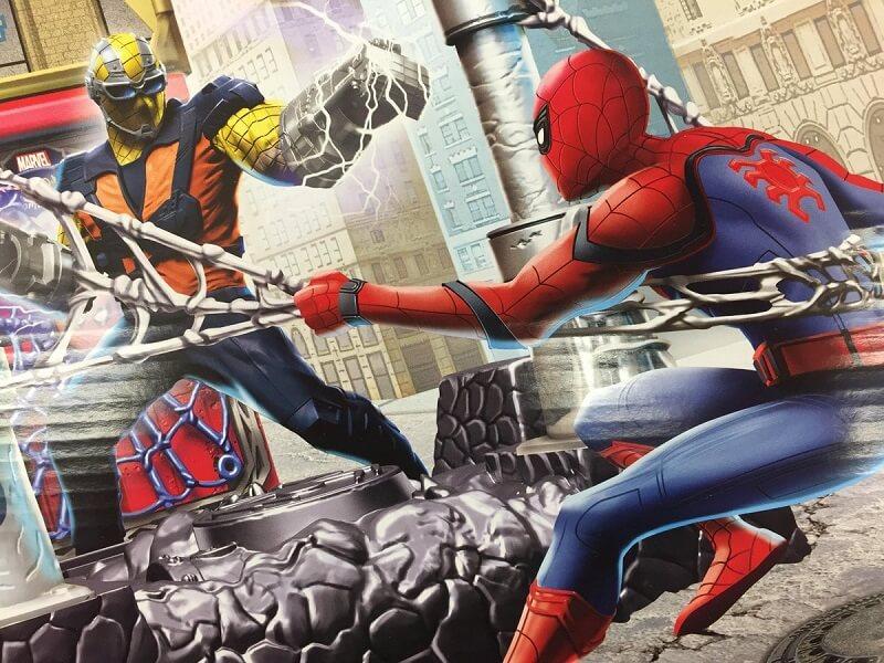 L'Uomo Ragno contro Shocker nel nuovo promo art di Spider Man: Homecoming