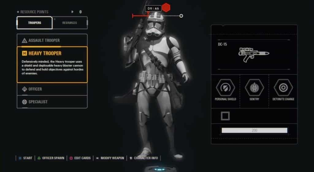 Star Wars Battlefront II: una nuova immagine svela il menù di gioco?